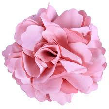 Pink Bathroom Rugs by Amazon Com Anleolife Fabric Pink Flower Hair Clips Corsage