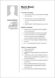 Curriculum Vitae Europeo 2016 Gratis | modello curriculum roberto mattni co