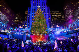christmas tree lighting 2018 winspire experience rockefeller center tree lighting festivities