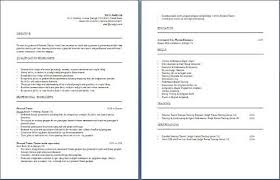 Personal Trainer Resume Sample by Personal Trainer Resume Samples Related