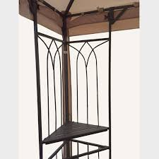Walmart Patio Gazebo by Replacement Canopy For Parkesburg Gazebo Riplock 350 Garden Winds