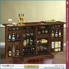 howard miller americana cherry portable wine and bar cabinet