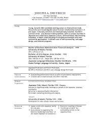 standard resume template standard resume template a sle resume resume