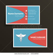 vector simple business card template clean stock vector 231145291