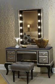 vanity table with lighted mirror and bench vanity table with lighted mirror and bench intended for your home