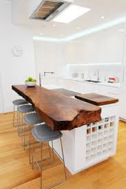 kitchen white l shaped kitchen island with backlight countertop