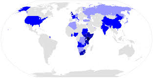 countries visited map file map showing countries president uhuru kenyatta of kenya has