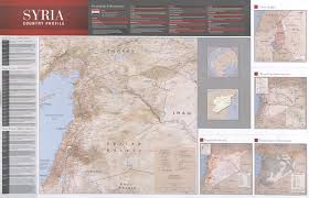 Maps Syria by Counter Insurgency Blog Syria Iraq U0026 Afghanistan Since 2007