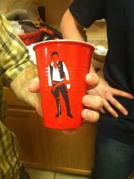 Red Solo Cup Meme - han solo cup you fill me up starwars