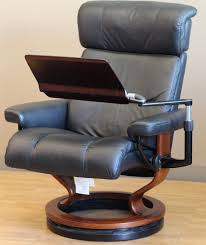 swing table for recliner stressless personal computer table from ekornes