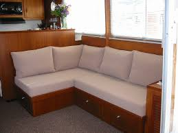 Built In Bench Seat Dimensions Custom Built In Seating For A Boat