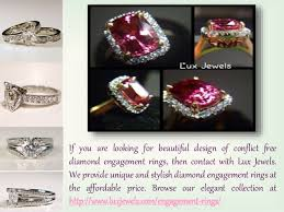 conflict free engagement rings conflict free engagement rings jewels