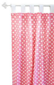White With Pink Polka Dot Curtains Curtains Dreadful Pink And White Curtain Pole Gratify Pink And