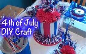 Fourth Of July Tablecloths by Diy Crafts 4th Of July Centerpiece Giftbasketappeal Youtube
