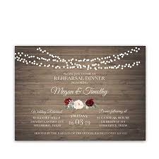wedding rehearsal dinner invitations floral wedding rehearsal dinner invitations burgundy blush