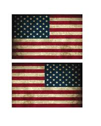 Free American Flag Stickers 1 Pair Small Usa American Flag Vintage Style Right And Left Decal
