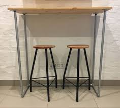 table with 2 stools bar table 2 stools brooklyn gumtree classifieds south africa