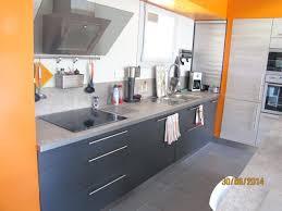 meuble cuisine gris clair meuble de cuisine gris anthracite plan de travail gris clair