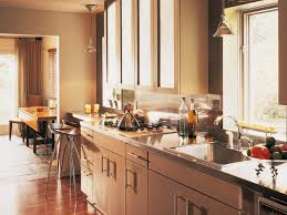 Kitchen With Island Design Stainless Steel Kitchen Islands Hgtv