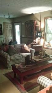 Country Primitive Home Decor Love The Stacked Suitcases In The Center Of The Living Room