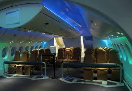 747 Dreamliner Interior Boeing 787 Dreamliner Aircraft Profile Aviation Spectator