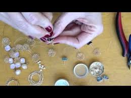 Learning To Make Jewelry - learn to make wire crochet jewelry youtube