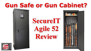 model 52 gun cabinet secureit agile 52 gun cabinet review youtube