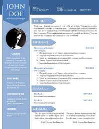 Resume Templates Word Doc 100 Cv Resume Template Word Examples Of Resumes Template For