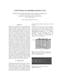 ansys fluent for modeling sootblower jets pdf download available