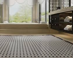 free shipping mosaic tiles sheet black white octagon glazed