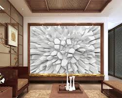 beibehang white 3d radiant stone photo wallpaper custom wall mural beibehang white 3d radiant stone photo wallpaper custom wall mural modern art painting hd mural 3d living room tv wallpaper in wallpapers from home