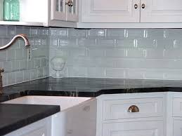 modern kitchen glass tile backsplash home design ideas