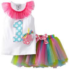 Easter Clothes For Baby Boy Amazon Com Mud Pie Baby U0027s Birthday Tutu Multi 12 18 Months