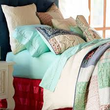 junk gypsy crocheted lace duvet cover pbteen