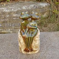 aliexpress com buy porcelain frog couple figurine plant pot