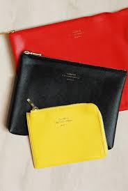 delfonics pouch buy delfonics quitterie pouch medium yellow milligram