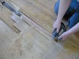 hardwood floor repair remove replace board by service