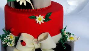Ladybug Themed Baby Shower Cakes - tree stump cake cakecentral com