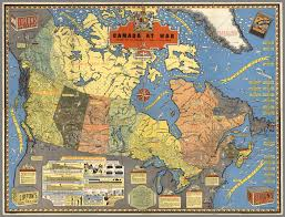 World At War Maps by Canada At War A Map Form 1944
