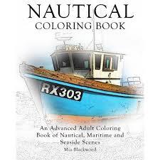 nautical coloring book advanced coloring book