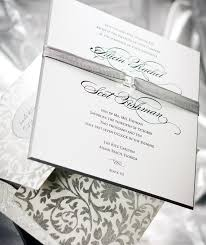 Silver Wedding Invitations Fun Wedding Invitations Weddings Illustrated