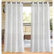 White Outdoor Curtain Panels Buy Outdoor Window Panels From Bed Bath U0026 Beyond