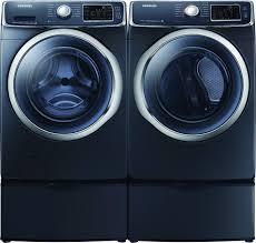 Front Load Washer With Pedestal Samsung Wf45h6300ag Front Load Washer U0026 Dv45h6300eg Electric Dryer