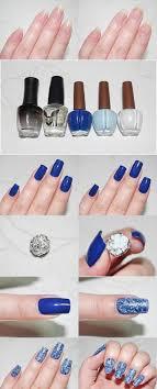 tutorial nail art foil really cool foil nailart nails pinterest saran wrap nails