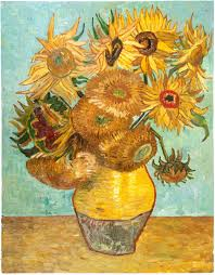 Vase Of Sunflowers Stillife Vase With Twelve Sunflowers Oil Painting Reproduction