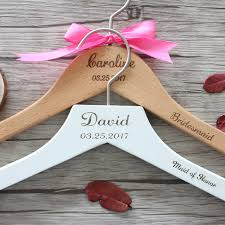 personalized wedding hangers personalized wedding hanger for and groom custom wedding