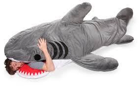 Shark Bean Bag Chumbuddy Sleeping Bag Looks Like A Shark Is You Alive