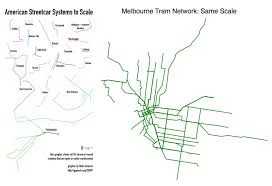 melbourne tram map melbourne trams and toronto streetcars to the same transit maps
