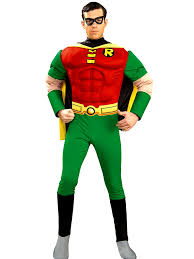 deluxe robin muscle chest costume 888078 fancy dress ball