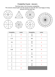 probability puzzle by alutwyche teaching resources tes